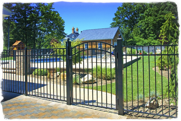 ornamental aluminum fence by horizon fence bethlehem pa